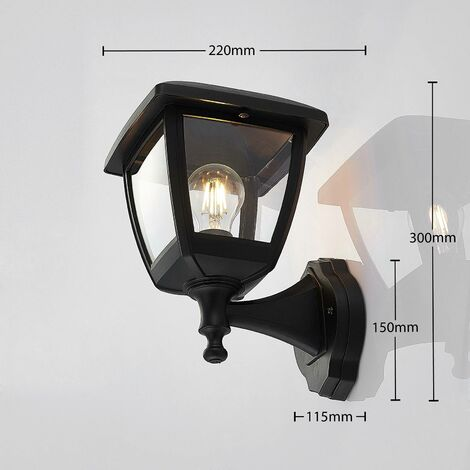 Acelya outdoor wall lantern without motion sensor