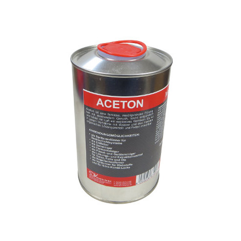 Turbo ACETON 99,5% Verdünnung Reiniger Entfetter Lackverdünner Aceton 01 HJ05