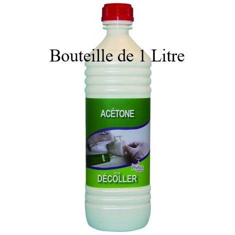Acétone bouteille de 1 litre - Phebus