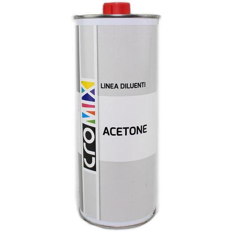 Acetone diluente solvente da litri 1 baldini vernici