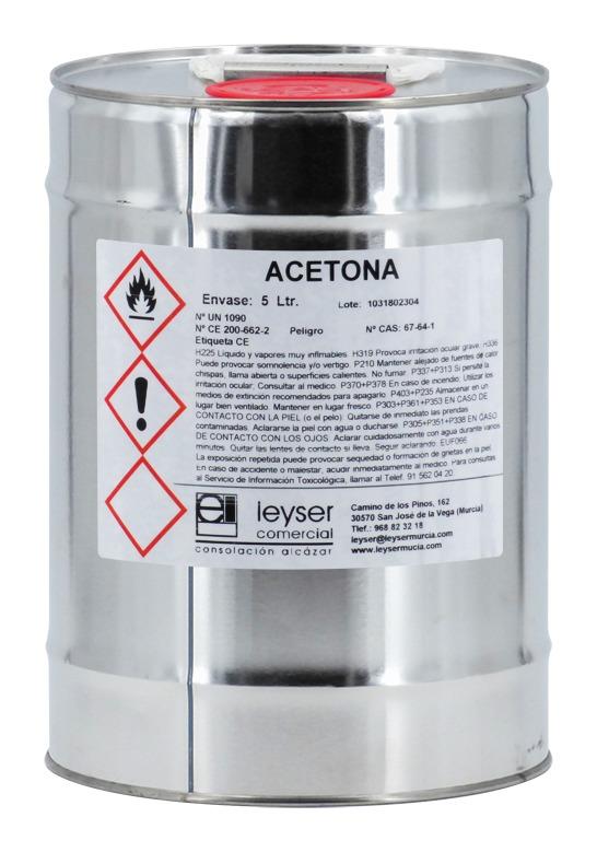 Acétone Pure 5L - Leyser