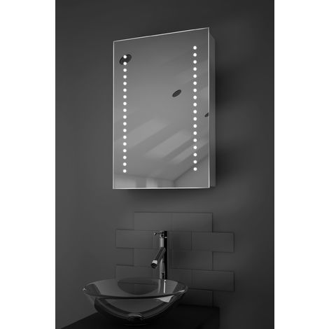Achilles LED Bathroom Cabinet with Demister Pad, Sensor & Shaver k345