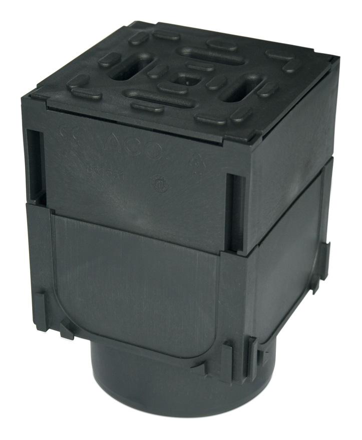 Image of ACO Drainage Brickslot Corner Unit - Hexdrain