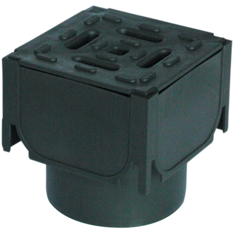 ACO Drainage HexDrain Corner Unit and Vertical Outlet