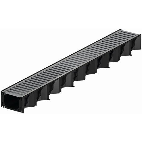 """main image of """"ACO Hexaline 2.0 Entwässerungsrinne aus Kunststoff, inkl. verzinktem Stahlrost, 100 cm"""""""