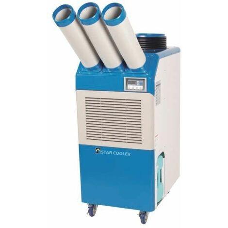 Acondicionador de aire industrial 2.900 W waterproof STAR COOLER MWSC25000