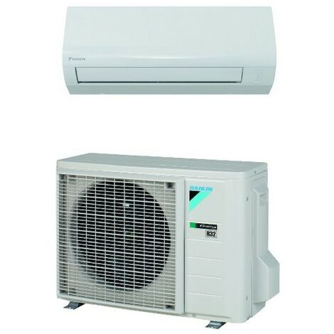 Acondicionador de aire Inverter Daikin monopartido de pared 12000 btu compuesto por unidades exterior e interior de gas R32   Blanco - Standard