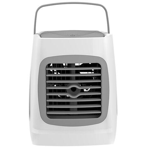 Acondicionador de aire mini Aire acondicionado con funcion de humidificacion personal portatil USB refrigerador pequeno