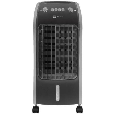 Acondicionador de Aire Portátil Q7 Pure 3 en 1. Climatizador, Humidificador y Purificador. Bajo Consumo (80W). 3 Velocidades