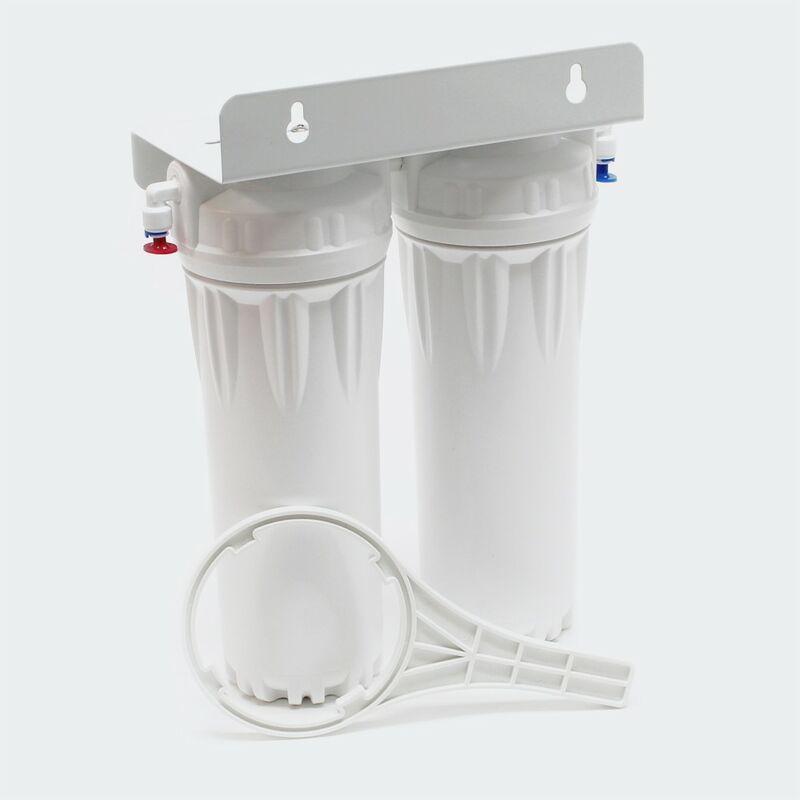 Acqua NW PR302 doppio filtro con il blocco di carbonio filtro di sedimenti