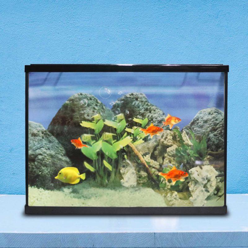 Acquario completo kit con filtro pompa vasca 18 litri for Vasca giardino pesci