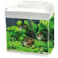 Acquario in vetro billy 16 bianco cm30x23,5x34,5