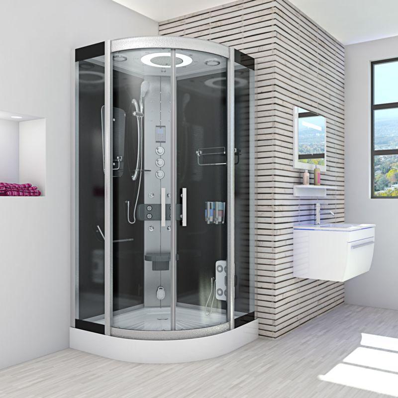 Duschkabine Regendusche Fertigdusche Dusche Duschwand Duschtempel 90x90 Neu !!