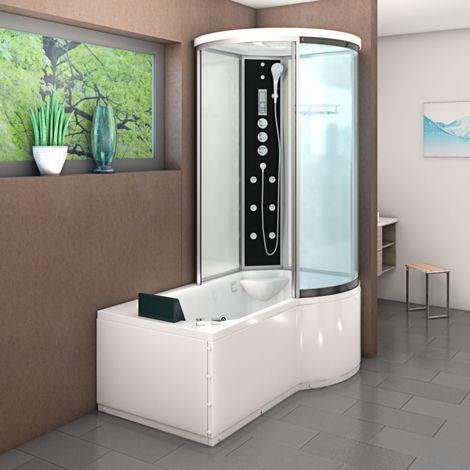 AcquaVapore DTP8055-A007L Dusche & Badewanne 170x98cm -10833- ohne ...