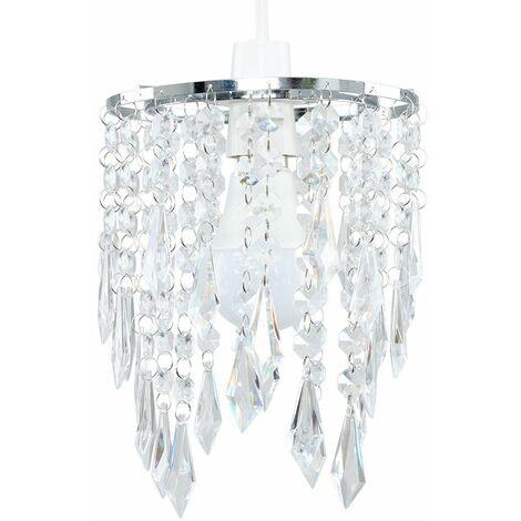 Acrylic Ceiling Pendant Light Shade Crystal Jewel Chandeliers Shades