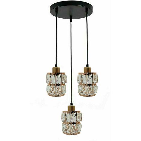 Acrylic Crystal Chandelier Style Ceiling Light Lamp Shade Pendant
