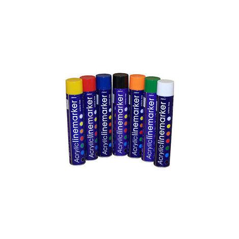 Acrylic Line Marker (Road Marking) Aerosol 750 ml (select colour)