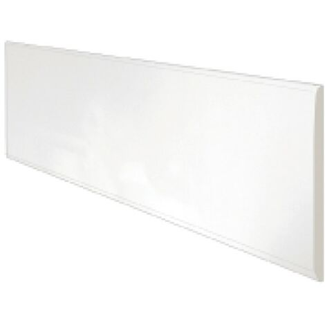 Acrylic Reinforced 1800mm Bath Front Panel