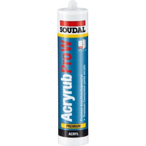 Acrylique Pro-W Premium- Acryl 310ml, marron SOUDAL