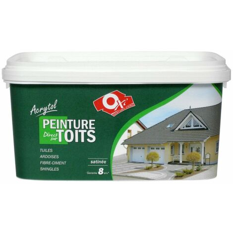 Acrytol Toit Ocre Rouge 2l5 - OXI