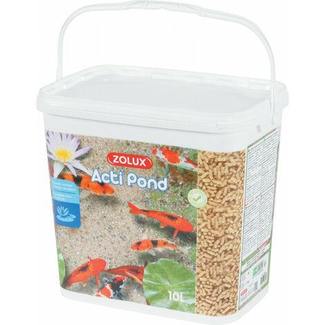 "main image of ""Acti Pond 10 litros de alimento completo para peces."""