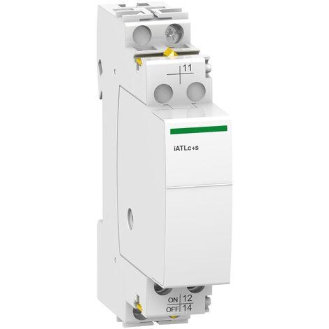 Acti9, iATLc+s auxiliaire de commande centralisée + signalisation 24...240VCA - A9C15409