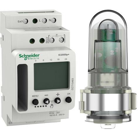 Acti9 IC2000p+ - interrupteur crépusculaire programmable (CCT15483)