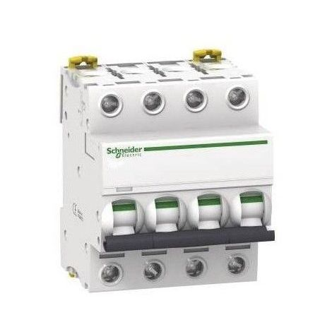 Acti9, iC60N disjoncteur 4P 63A courbe C Schneider Electric