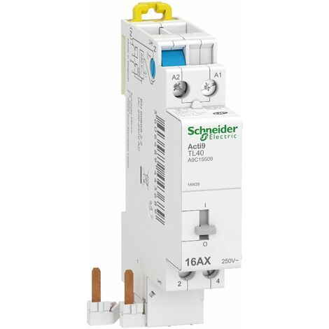 Acti9 iDT40 TL - télérupteur à raccordement rapide - 16A - 2P - 230V