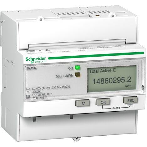 Acti9 iEM - compteur d énergie tri - 63A - A9MEM3100