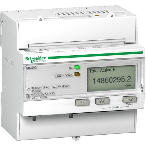Acti9 iEM - compteur d énergie tri - TI - A9MEM3200