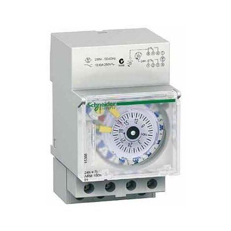 Acti9 IH - interrupteur horaire - 24H/7J - 2 canaux - réserve de marche 150h - 15366