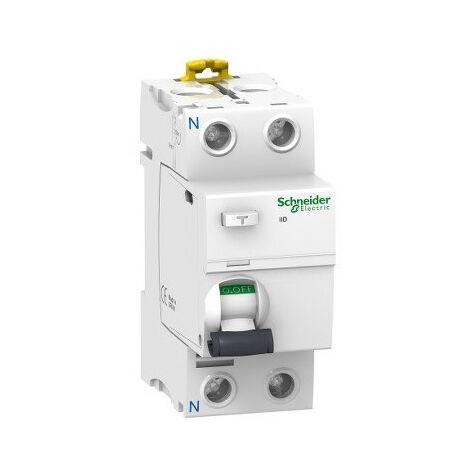 Acti9, iID interrupteur différentiel 2P 25A 30mA type AC