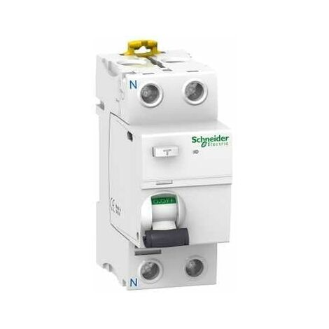 Acti9, iID interrupteur différentiel 2P 40A 100mA type AC - A9R12240