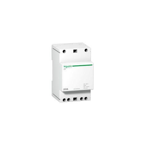 Acti9 iTR - transformateur de sonnerie et ronfleur - 25VA - 230Vca/12-24Vca - A9A15215