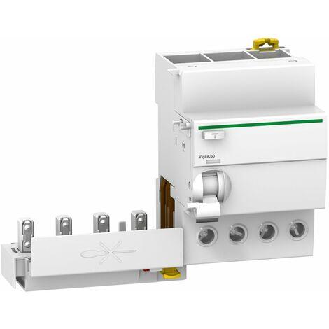 Acti9, Vigi iC60, bloc différentiel 4P 40A 30mA type AC 230-240V 400-415V - A9Q11440