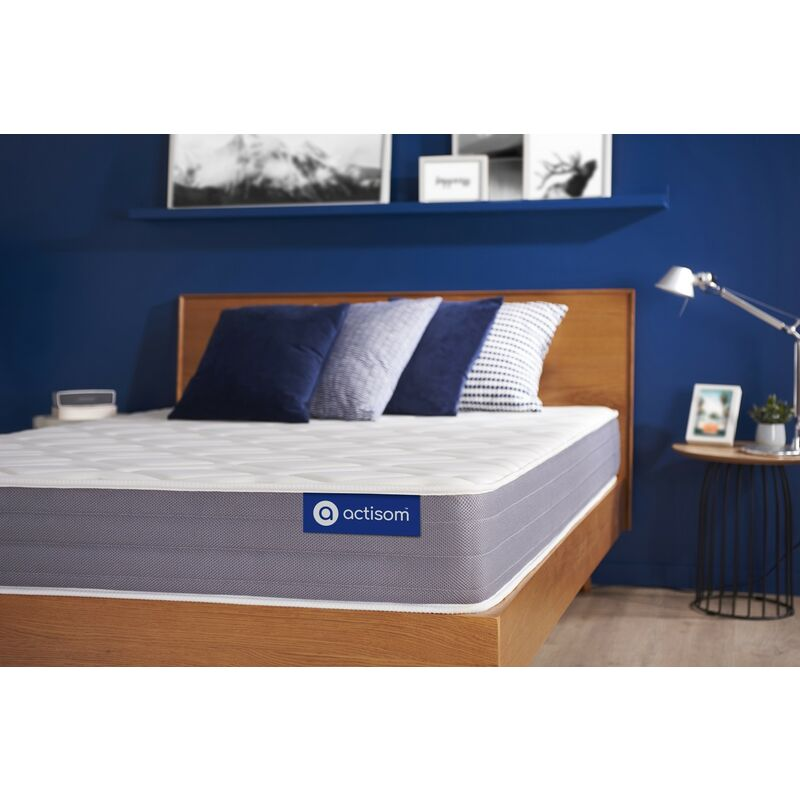 Actiflex dream matratze 100x200cm, Taschenfederkern und Memory-Schaum, Härtegrad 3, Höhe :22 cm, 5 Komfortzonen