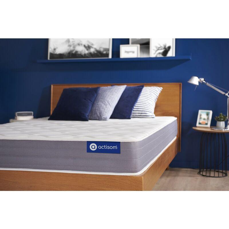 Actiflex dream matratze 90x220cm, Dicke : 22 cm, Taschenfederkern und Memory-Schaum, Irgendwie fest, 5 Komfortzonen, H3 - ACTISOM
