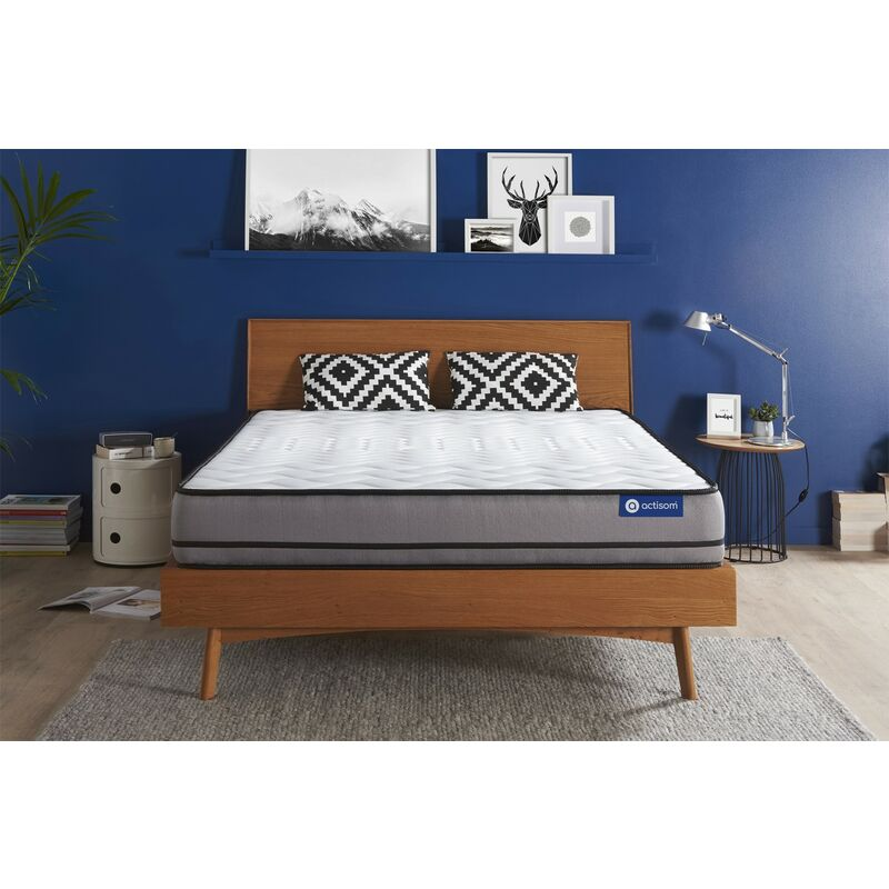Actiflex night matratze 150x200cm, Dicke : 20 cm, Taschenfederkern, Sehr fest, 3 Komfortzonen, H5 - ACTISOM