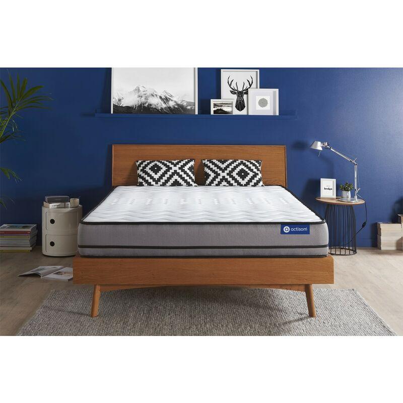Actiflex night matratze 200x200cm, Dicke : 20 cm, Taschenfederkern, Sehr fest, 3 Komfortzonen, H5 - ACTISOM