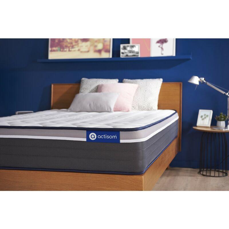 Actiflex plus matratze 70x200cm, Taschenfederkern und Memory-Schaum, Härtegrad 5, Höhe :26 cm, 7 Komfortzonen