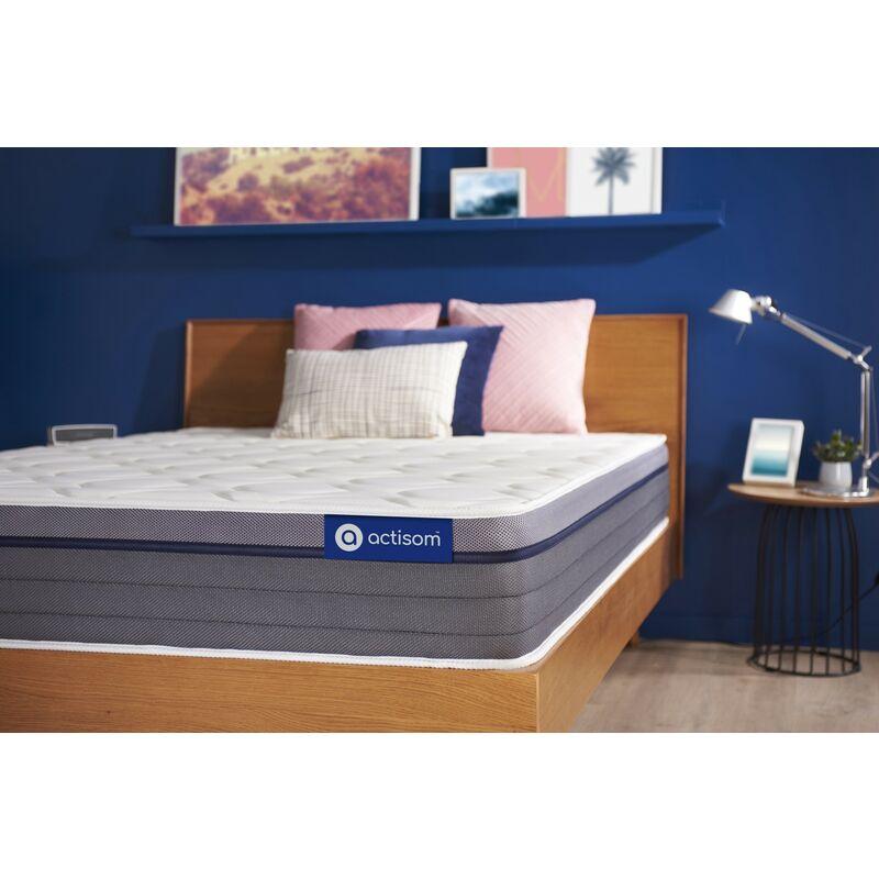 Actiflex zen matratze 90x220cm, Taschenfederkern und Memory-Schaum, Härtegrad 2, Höhe :26 cm, 7 Komfortzonen