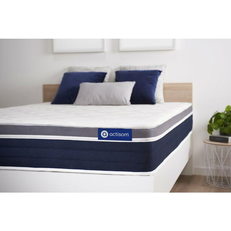 Actisom - Actilatex confort matratze 100x210cm, Latex und Memory-Schaum, Härtegrad 3, Höhe :26 cm, 7 Komfortzonen