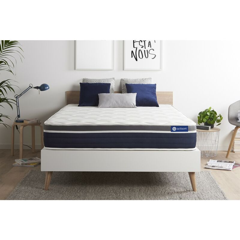 Actilatex confort matratze 200x200cm, Latex und Memory-Schaum, Härtegrad 3, Höhe :26 cm, 7 Komfortzonen