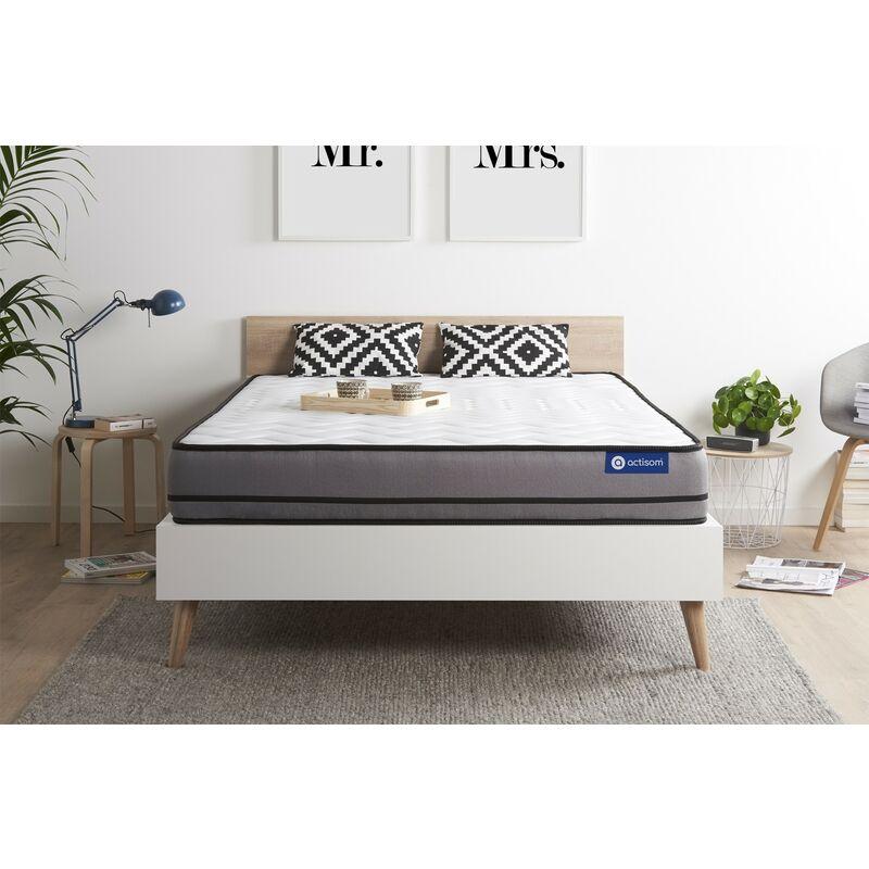 Actisom - Actilatex night matratze 150x200cm, Latex und Memory-Schaum, Härtegrad 5, Höhe :20 cm, 3 Komfortzonen