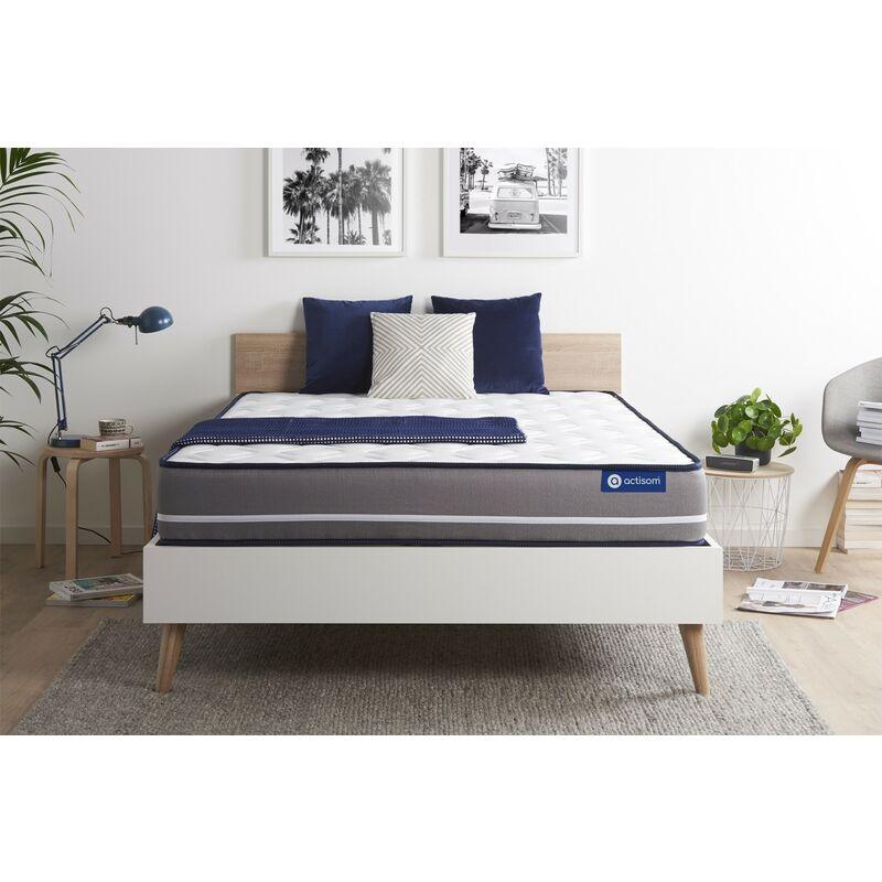 Actilatex pur matratze 120x200cm, Latex und Memory-Schaum, Härtegrad 4, Höhe :20 cm, 3 Komfortzonen