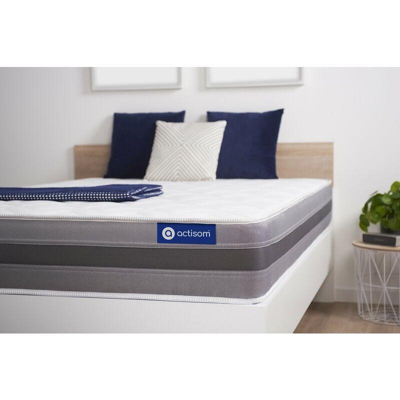 Actisom - Actilatex relax matratze 90x220cm, Latex und Memory-Schaum, Härtegrad 3, Höhe :24 cm, 5 Komfortzonen