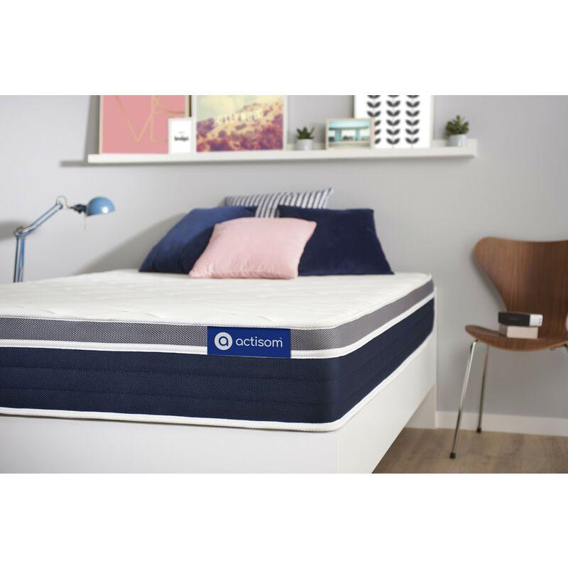 Actimemo confort matratze 90x210cm, Dicke : 26 cm, Memory-Schaum, Irgendwie fest, 7 Komfortzonen, H3 - ACTISOM