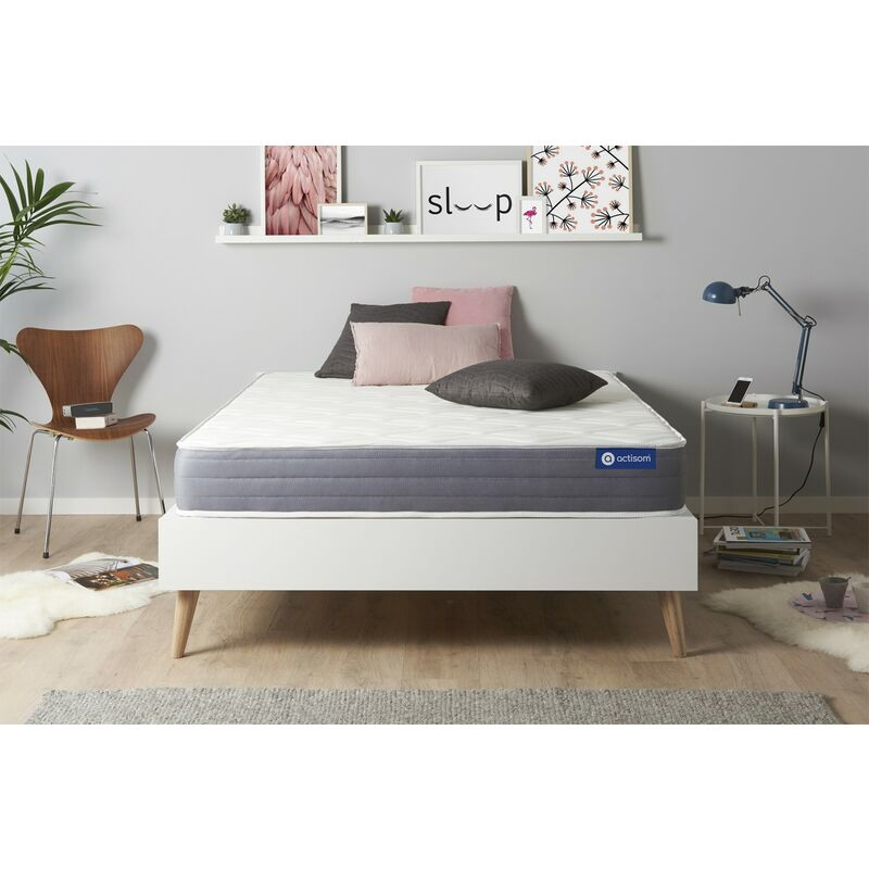Actimemo dream matratze 120x190cm, Memory-Schaum, Härtegrad 3, Höhe : 22 cm, 5 Komfortzonen