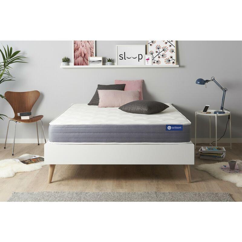 Actimemo dream matratze 130x200cm, Memory-Schaum, Härtegrad 3, Höhe : 22 cm, 5 Komfortzonen